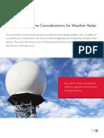 Baron White Paper Radar System Selection