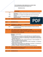 1er Dialogo Plurinacional Programa-1