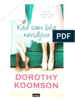 Dorothy Koomson - Kad Sam Bila Nevidljiva