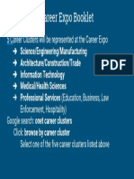 career expo booklet