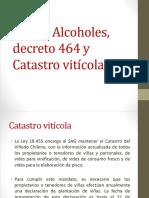 Ley de Alcoholes,  decreto 464 y Catastro.pptx
