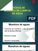6. Metodos de Muestreo en Cuerpos de Agua-1