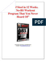 Abs of Steel Manual