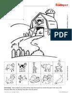 Farm animal worksheet