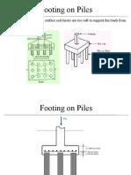Foundation Rcd of Footings 7-1