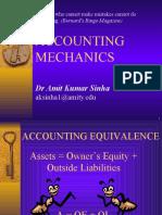 Accounting Mechanics