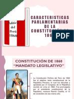 caracteristicas parlamentaria de la constitucion