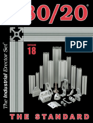 2488 Drop-in Panel Bracket 80//20 Inc 15 Series