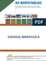 ENERGIAS RENOVABLES procesos