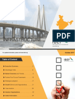 Infrastructure October report _IBEF