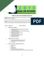 CURSO en LINEA con PLATAFORMA EDUCATIVA Guia 2015 Docentes en Servicio.pdf