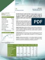 Actualizare Raport Analiza Boromir Prod S.a. - Rezultate S1 2016