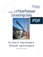 Eriksson Stability of Girders Presentation Aug 2015 Distibution