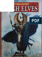 Warhammer Armies High Elves - 8th Edition