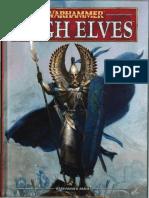 Warhammer Armies High Elves - 8th Edition