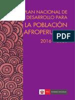 Plan Nacional de Desarrollo PLANDEPA