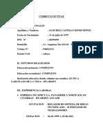 Curriculum Vita1 Claro