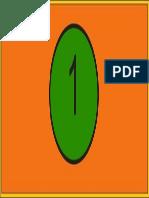 Forma de Numeracion de Flouresentes
