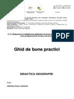 Didactica Geografiei - Gabriela Osaci-costache