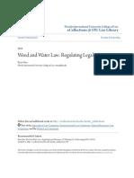 Weed and Water Law- Regulating Legal Marijuana