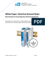 White Paper_ Electrical Ground Rules