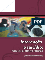 Cadernos de Socioeducação. Internação e Suicídio