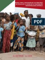 Manual sobre la eficacia en la ayuda 2012