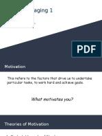 management skills- motivation