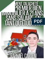 Livre Comment Jai Achete Mon 1er Appartement Locatif a 21 Ans en Tant Quetudiant v2