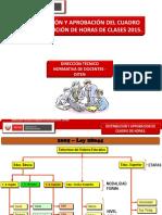 Cuadro de Horas 2015 - Coordinadores Ebr
