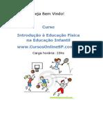 Educação Física Na Educação Infantil (20h)