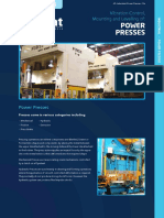 Vibration Control, Mounting and Levelling of Power Press