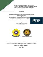 Design Research on Mathematics Education
