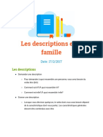 Les Description Set La Famille
