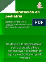 54108232 Deshidratacion en Pediatria Cuidados de Enfermeria Electrolitos Sales de Rehidratacion Pediatria Medio Interno Agua Deplecion