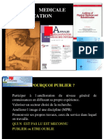 Redaction Medicale Et Publications