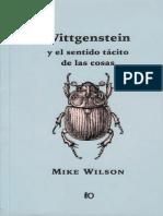 Wilson Mike - Wittgenstein Y El Sentido Tacito de Las Cosas