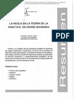 Teoría de la Práctica Pierre Bourdieu