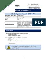 D500 GSM Configuration