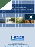 Guia de Fortalecimiento Municipal Noviembre 2014