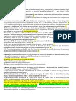 Lista 4 Macro II Aberta - Gabarito