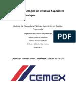 Cadena de Suministros CEMEX