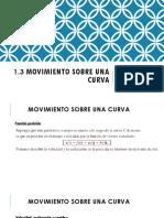 1.3 Movimiento Sobre Una Curva Clase 4