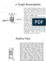 Reaktor Tangki Berpengaduk