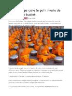 10 Lucruri Pe Care Le Poti Invata de La Calugarii Budisti