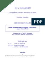 Audit Des Entreprises Des Assurances