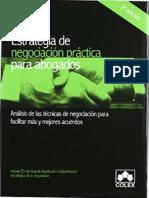 Estrategia de negociación práctica para abogados