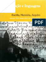 Escrita, Memória, Arquivo