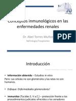 Conceptos Inmunologicos en Enfermedades Renales