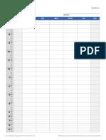 Class Schedule jadwal